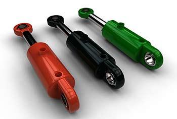 Cilindro idraulico miniatura